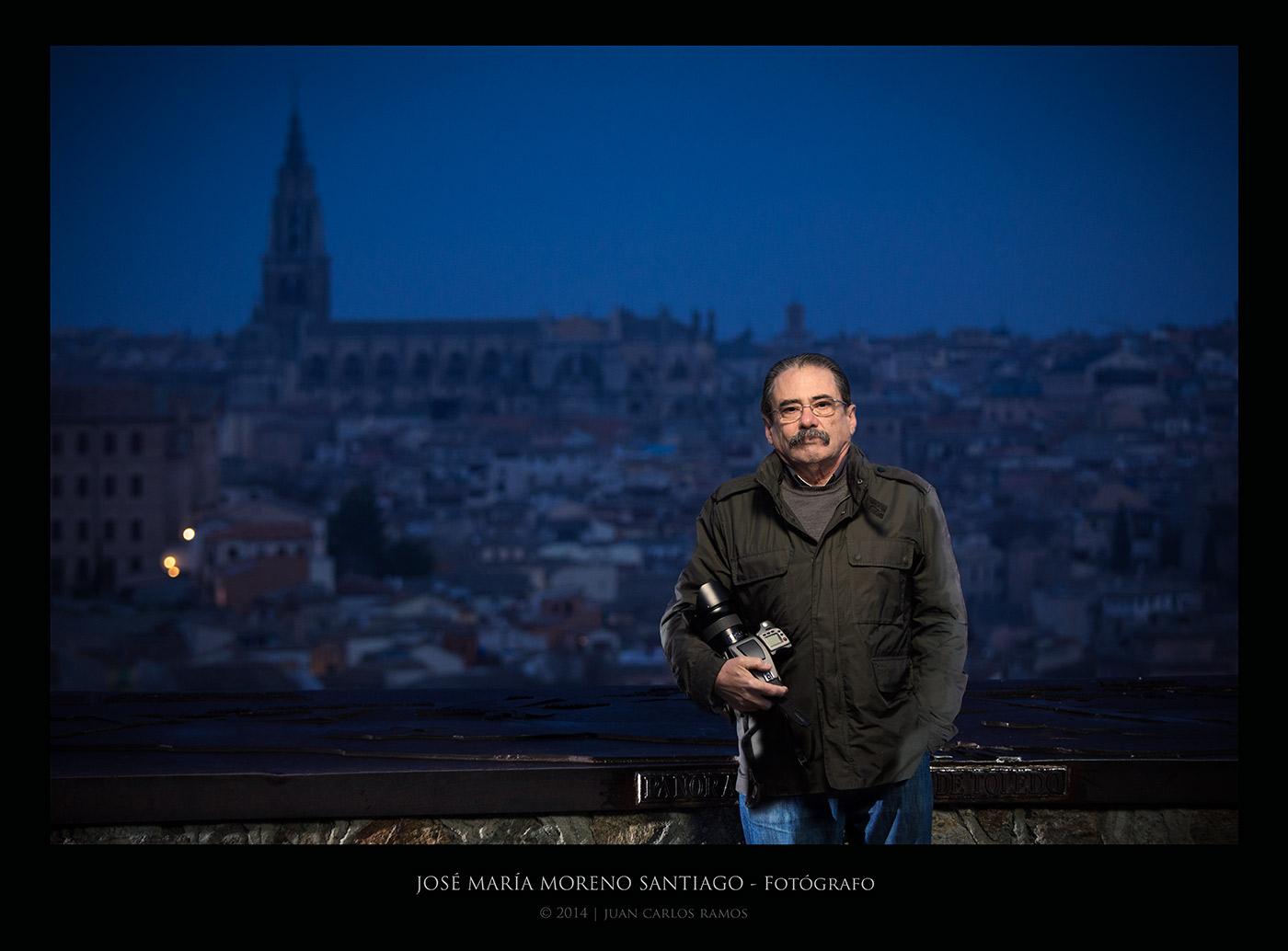 JOSE MARIA MORENO SANTIAGO POR JUAN CARLOS RAMOS FOTOGRAFO RETRATO TOLEDO
